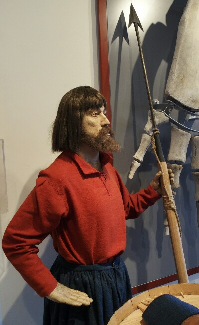 """Euskal balezalea"", Red Bayko museoan."