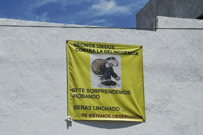 Cholulako kalean. Cholula, Puebla.