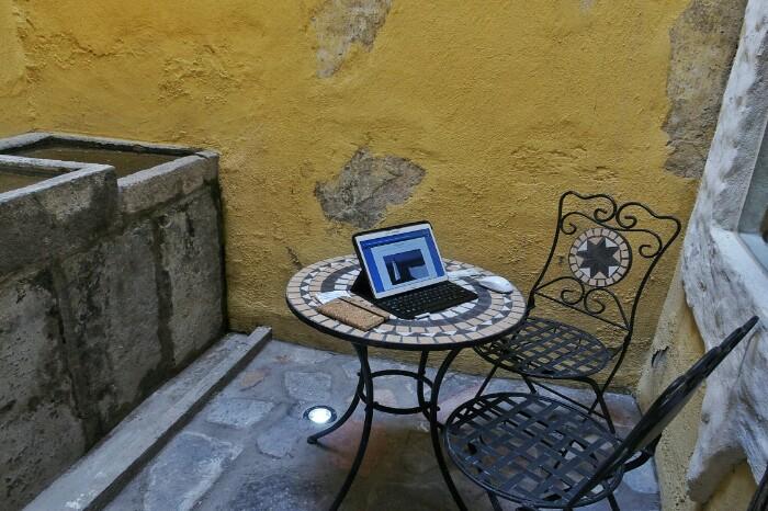 Terraza, hala esaten diote. Puebla.