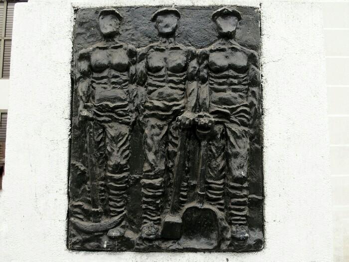 1907ko sarraskiaren monolitoa. Iquique, Txile.
