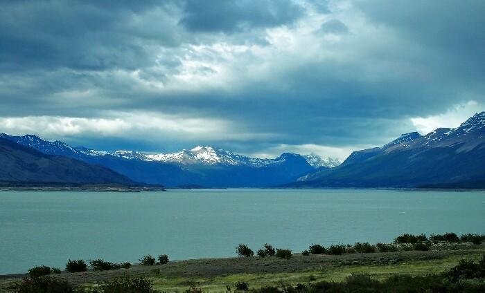 Perito Moreno glaziarra. Calafate, Argentina.