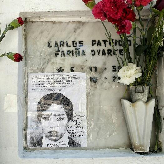 ... a quien mataron a sus 13 años de edad. Sus asesinos son... Santiago, Txile.