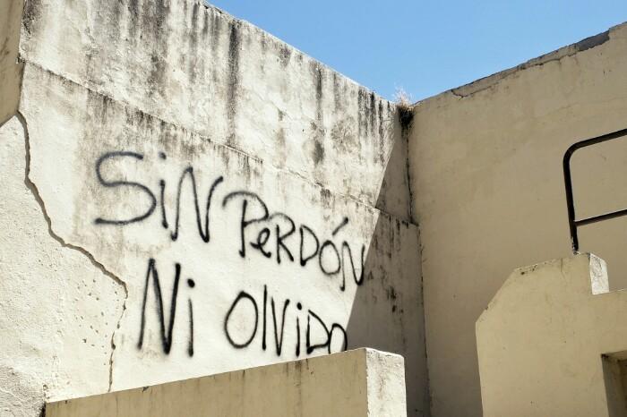Ez barkamenik, ez ahanzturarik. Santiago, Txile.