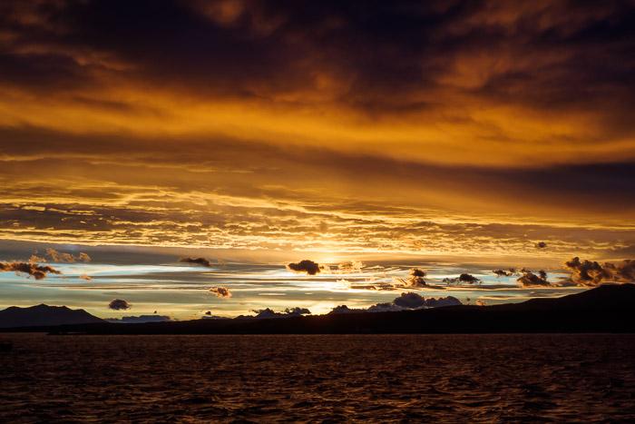 Puerto Natales. Txile.