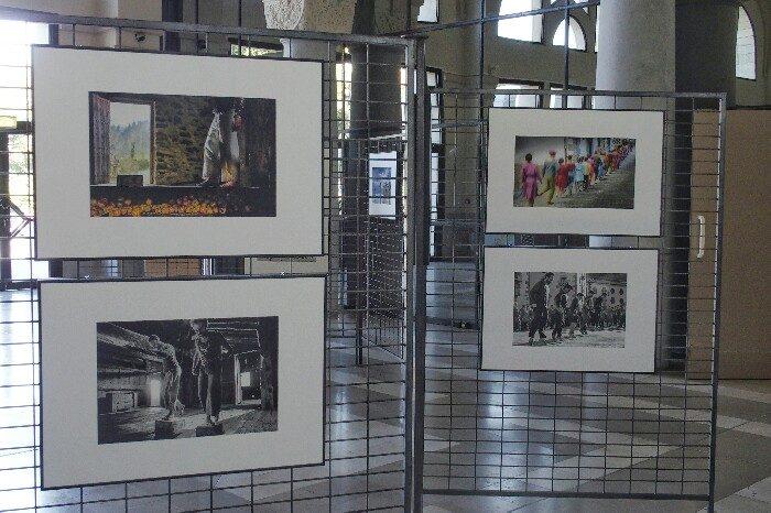 Erakusketa Miarritzeko Gare du Midi-n.