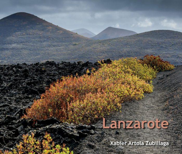 Lanzarote, argazki liburua (azala)
